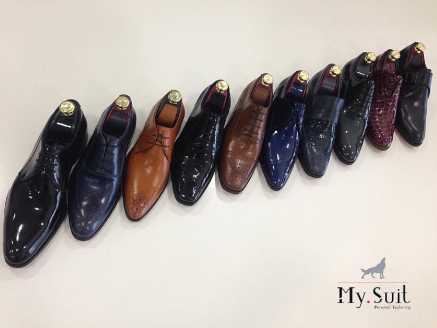 Colecção de sapatos classicos por medida MySuit