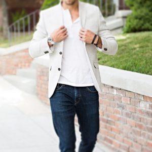 Como usar um blazer - casual day