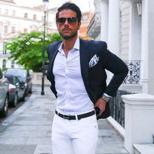 Como usar um blazer - combinação de cores